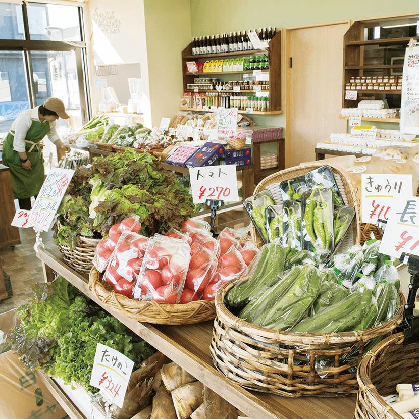 写真:野菜畑マルシェ